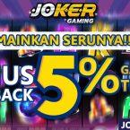 Daftar Game Slot Joker123 Online Deposit Pulsa